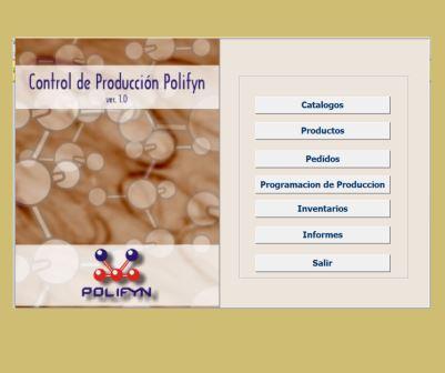 Sistema Control de Producción de la planta POLIFYN