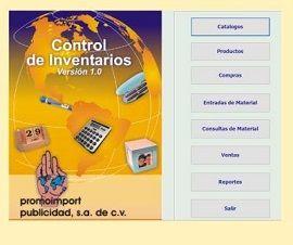 Sistema de Control de Inventarios PROMOIMPORT