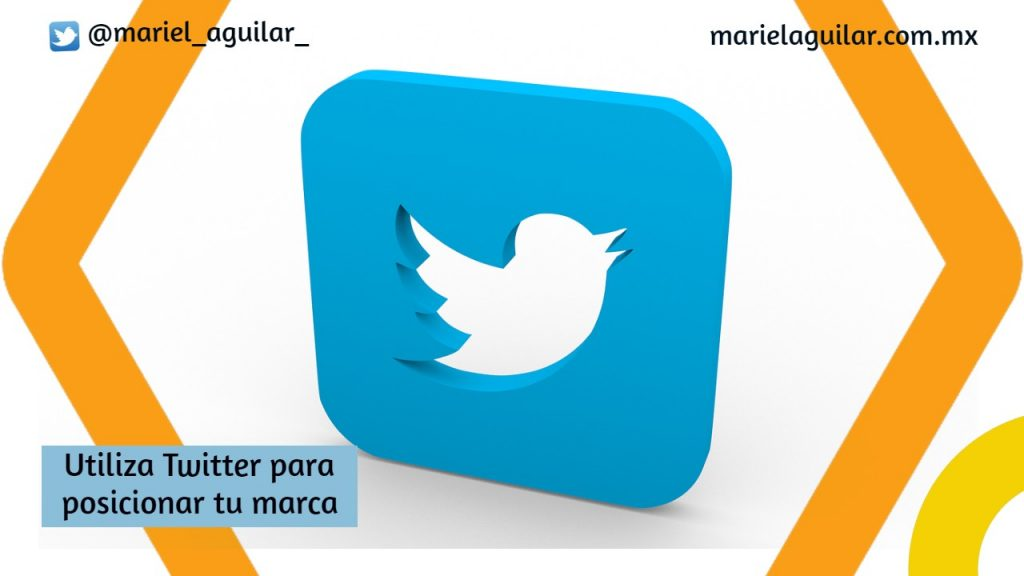 Utiliza twitter para posicionar tu marca