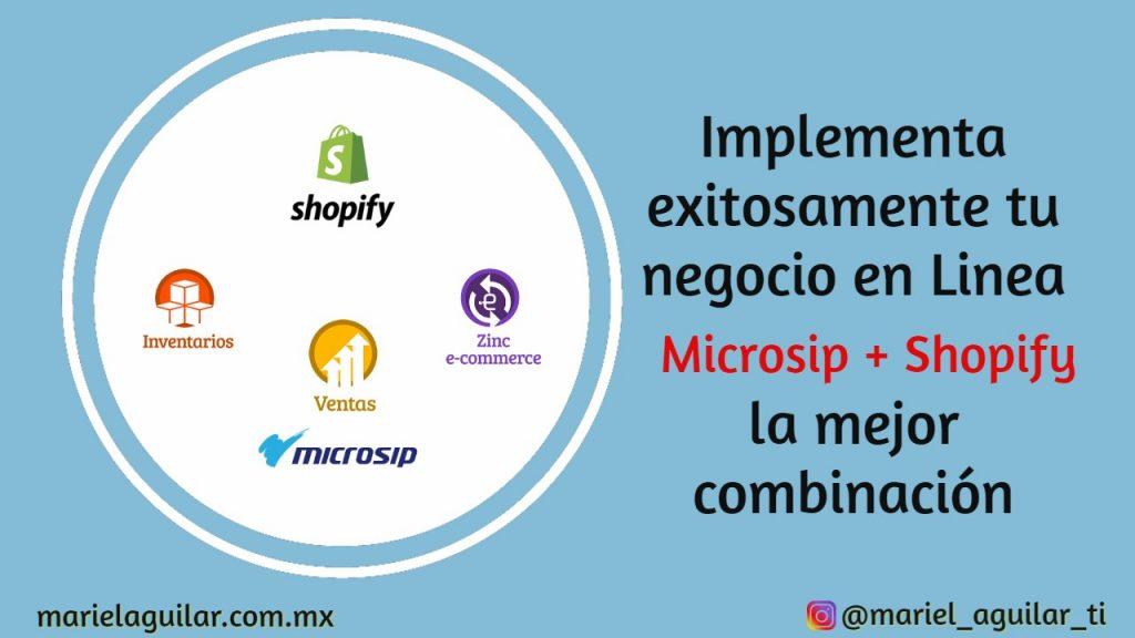 tienda en linea Shopify microsip