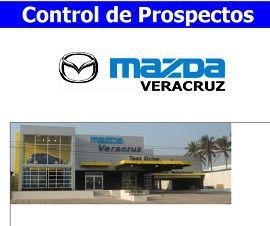 Control de Prospectos Venta de Autos MAZDA VERACRUZ