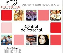 Sistema de Control de Personal EXPRESA